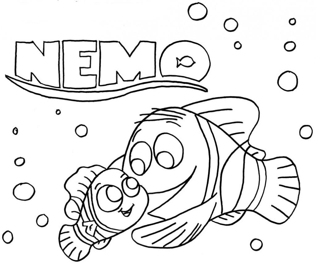 Findet Nemo Ausmalbilder  KonaBeun zum ausdrucken ausmalbilder findet nemo