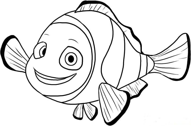 Findet Nemo Ausmalbilder  Malvorlagen fur kinder Ausmalbilder Findet Nemo