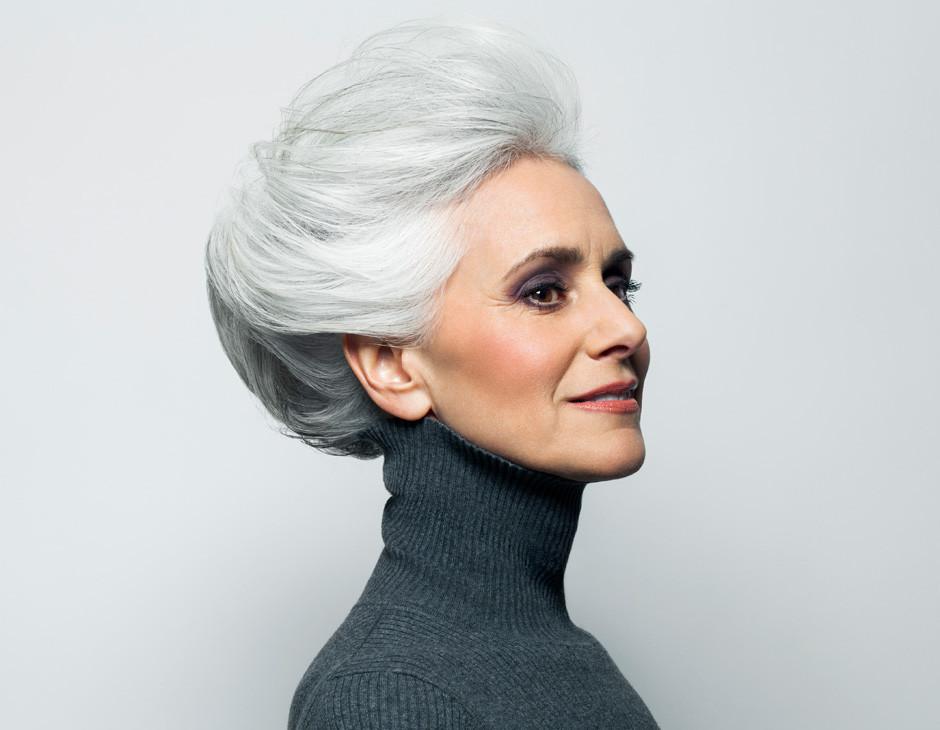 Flotte Frisuren Für Graue Haare  Frisuren für älteres Haar