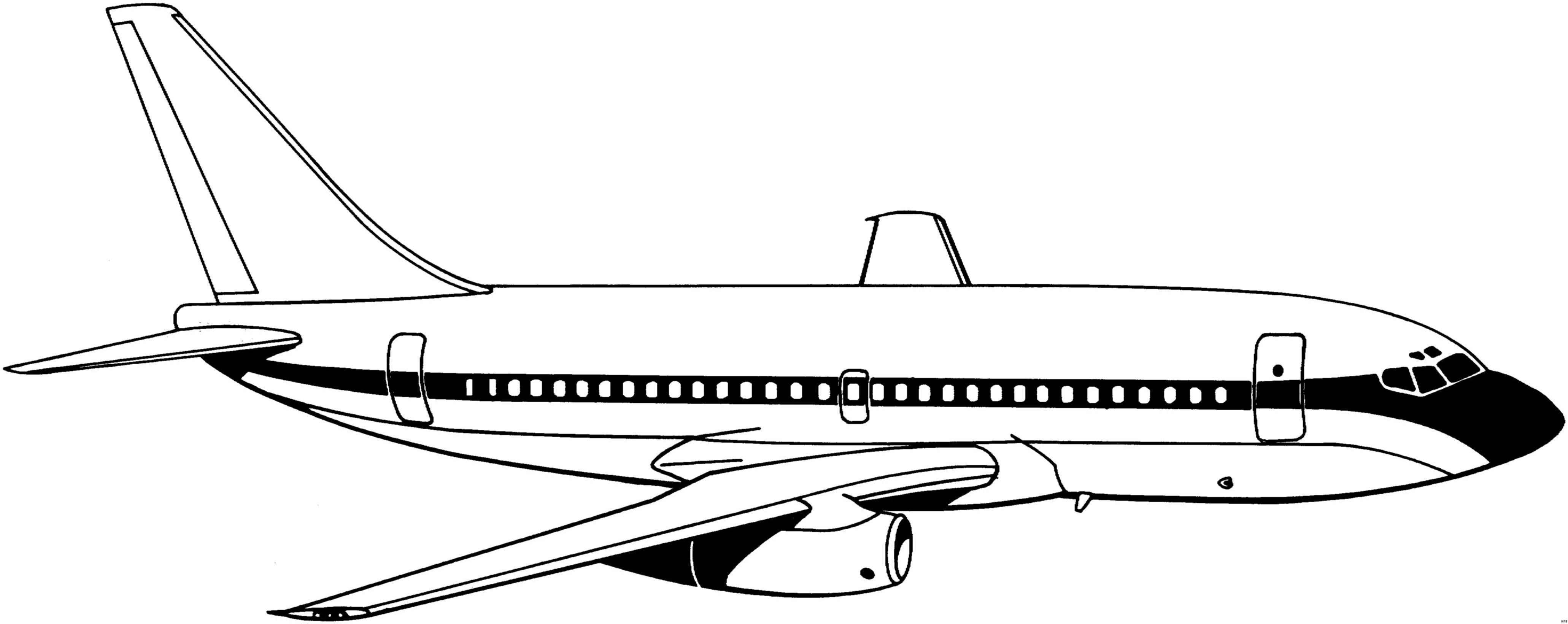 Flugzeug Ausmalbilder  Ausmalbilder flugzeug kostenlos Malvorlagen zum