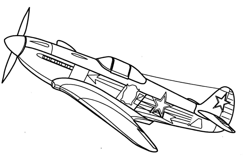 Flugzeug Ausmalbilder  Flugzeug malvorlagen kostenlos zum ausdrucken
