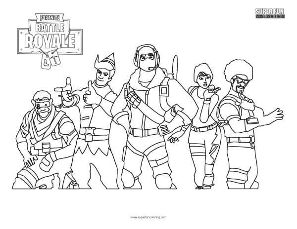 Fortnite Ausmalbilder Skins  Fortnite Reaper Skin Coloring Page Super Fun Coloring Pages