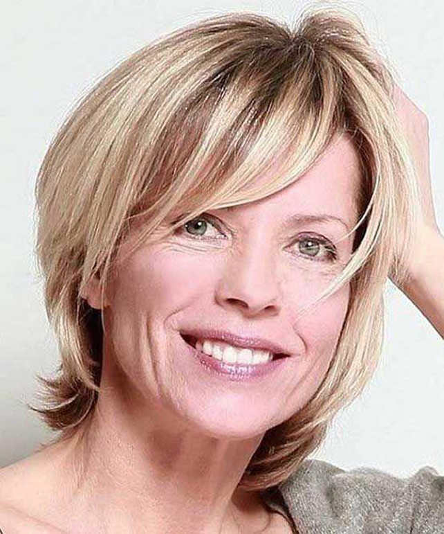 Fransige Frisuren Ab 50  Kurzhaarfrisuren Damen ab 50 Aktuelle Frisuren Frauen