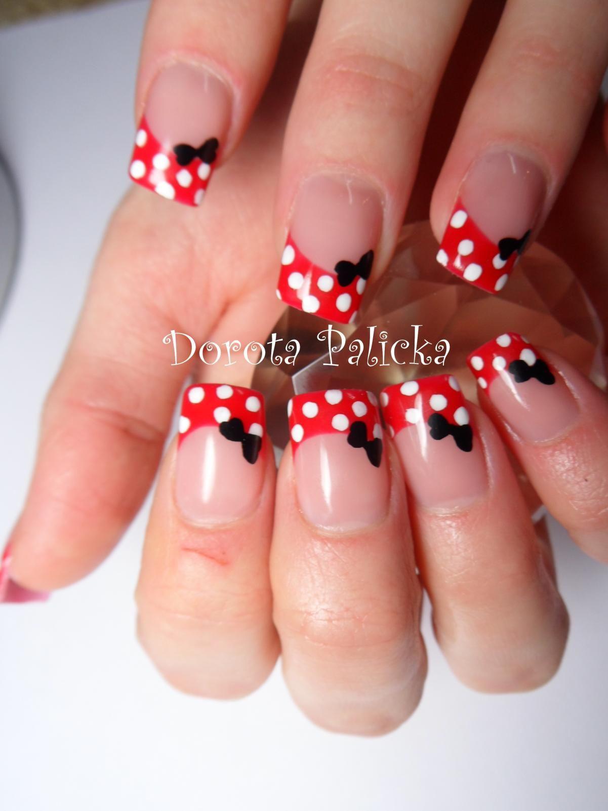 Französische Maniküre  shellac nails