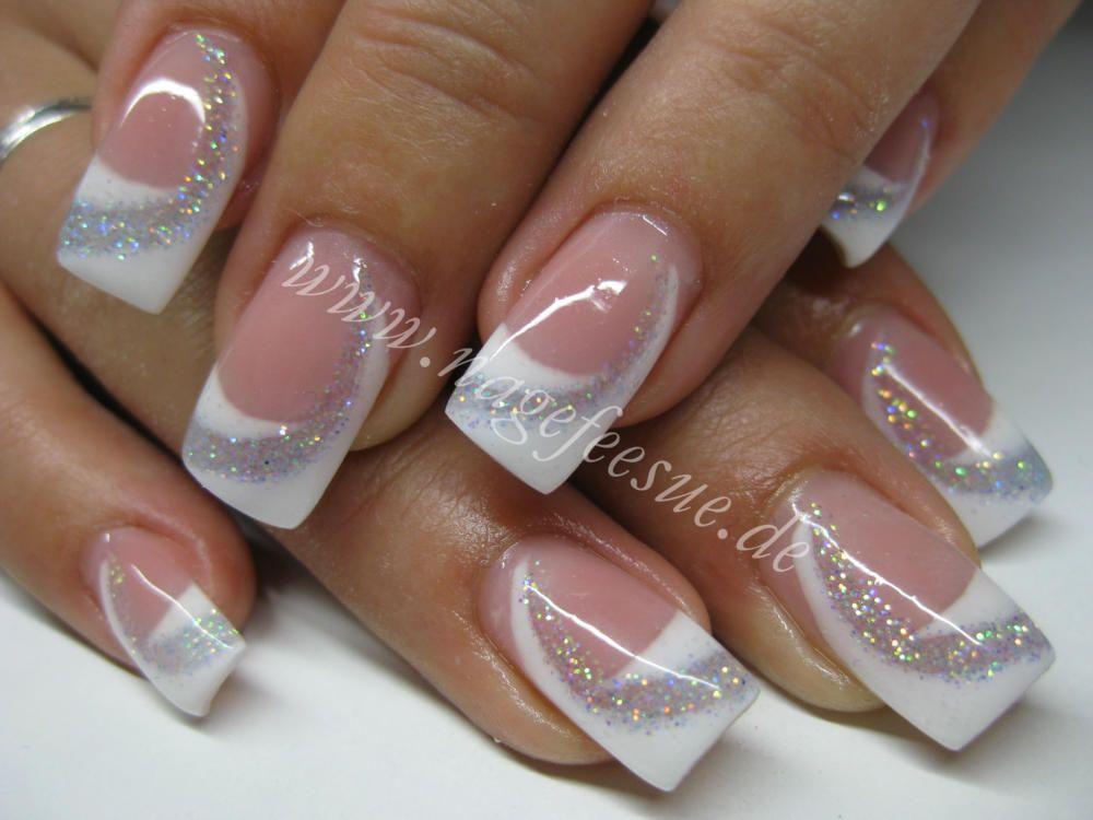 Französische Maniküre  nagelpflege markranstädt nageldesign ausbildung