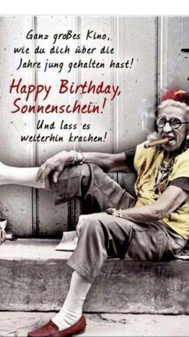 Freche Geburtstagswünsche Für Frauen  Pin von Ester auf Geburtstagssprüche