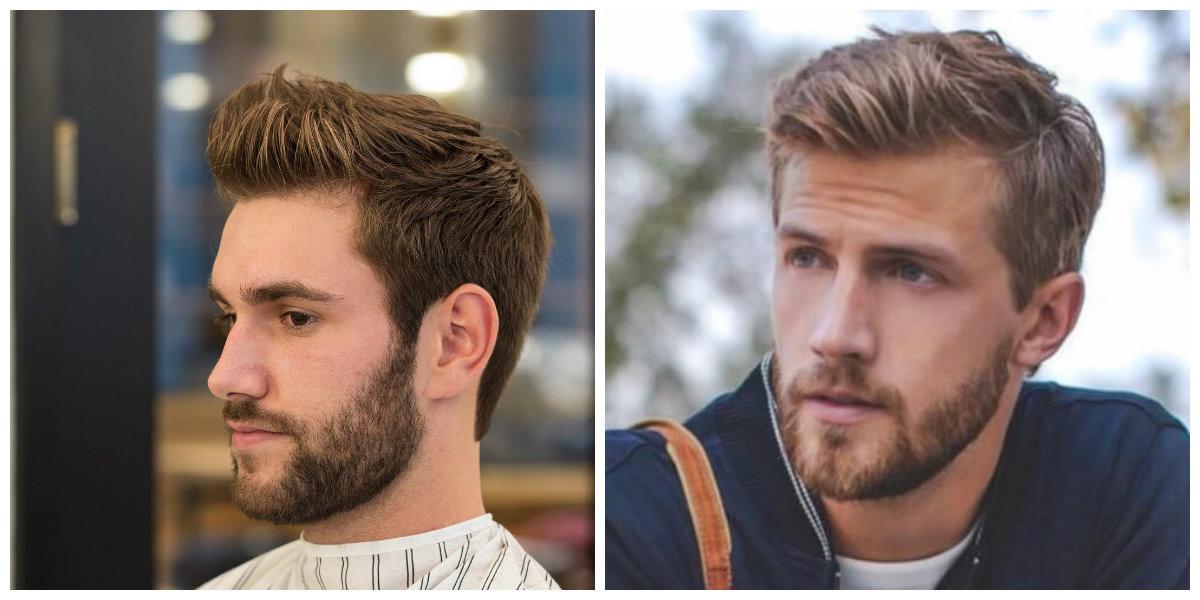 Frisuren 2019 Herren  Herrenfrisuren 2019 stilvolle Herrenfrisuren für