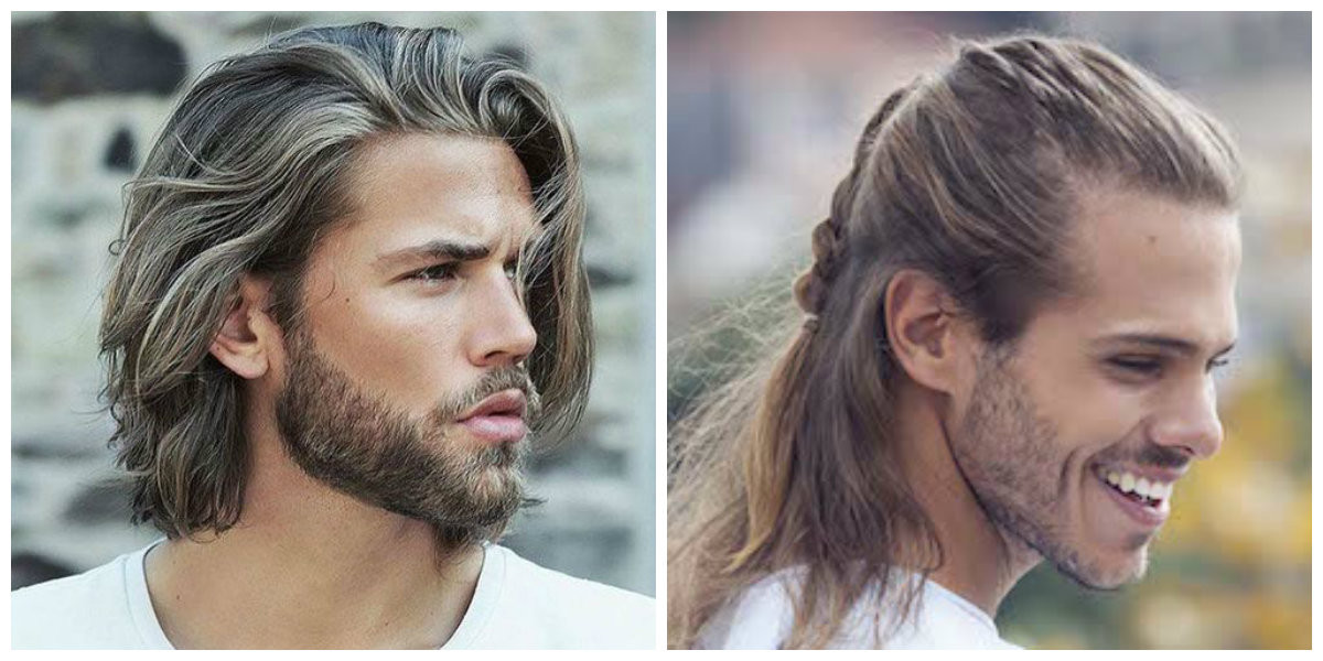 Frisuren 2019 Lange Haare  Lange Frisuren für Männer 2019 Top trendige Frisurideen