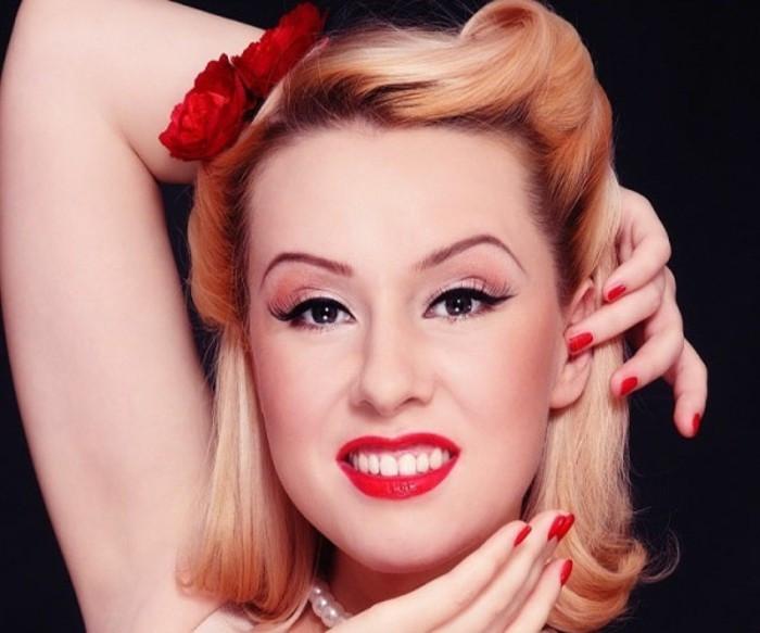 Frisuren 50Er Jahre Damen  140 Rockabilly Frisuren von den 50er inspiriert