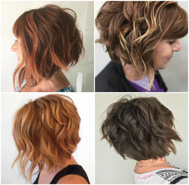 Frisuren Ab 50 Damen  Modische Frisuren für Frauen ab 50 und Haarfarben
