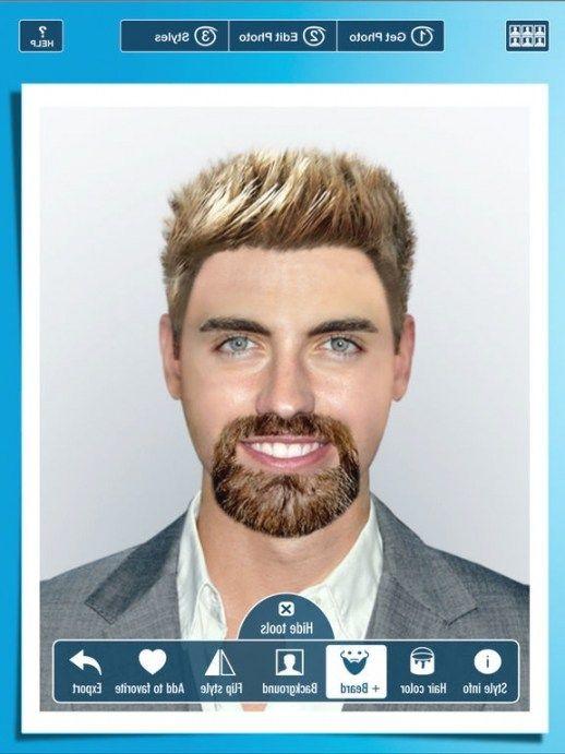 Frisuren App Männer  Herren Frisur App Männer Frisuren Pinterest