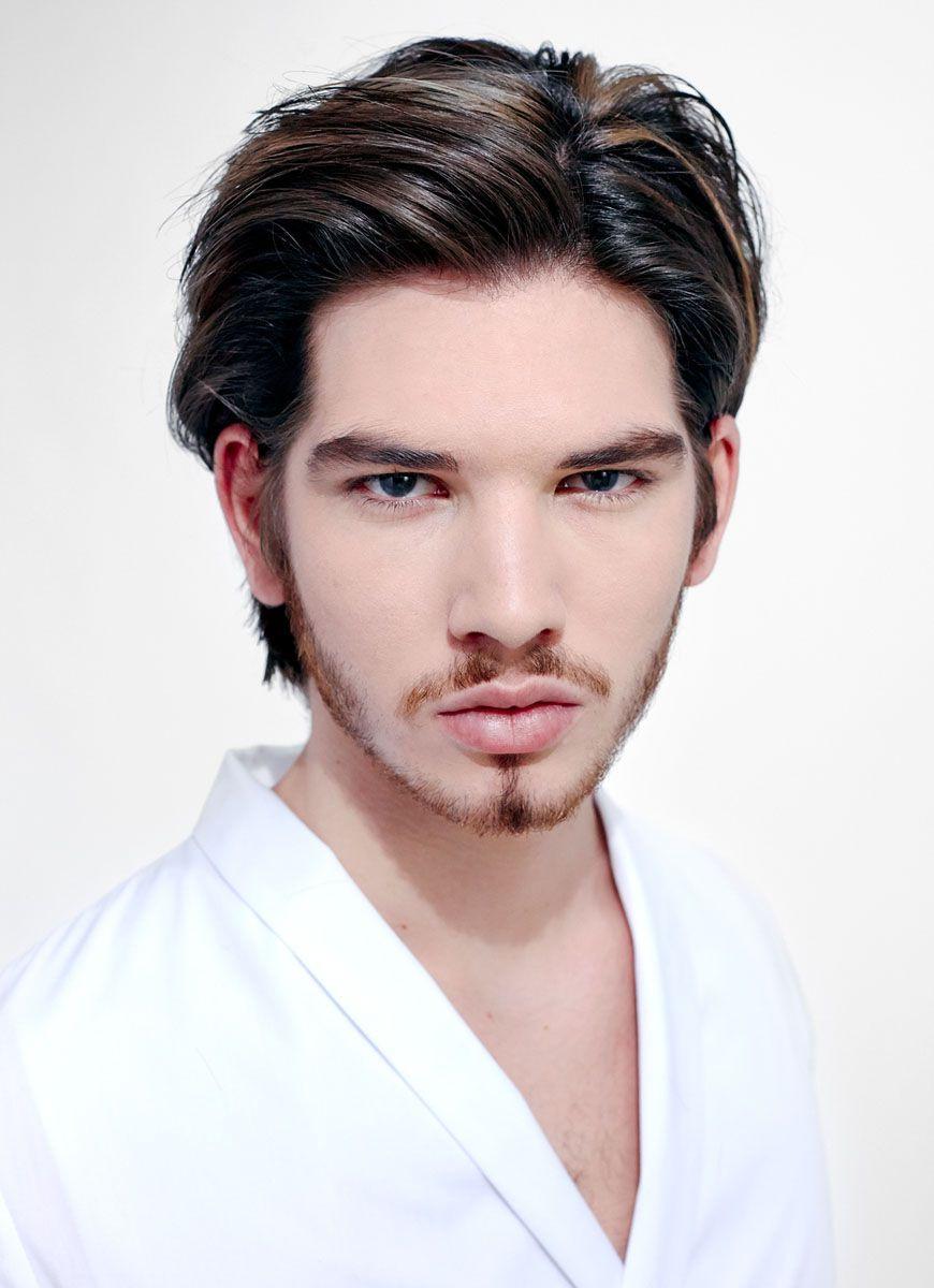 Frisuren App Männer  Mittellange Haare