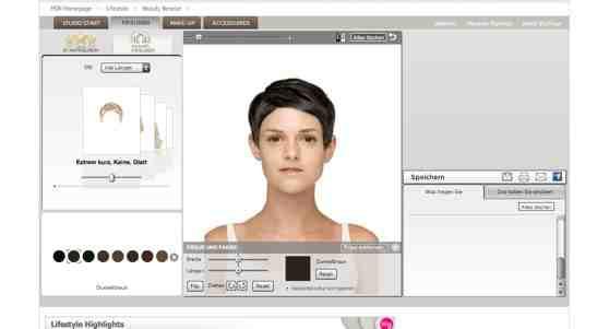Frisuren Ausprobieren Online  Welche Frisur passt zu mir Damen Frisuren online testen
