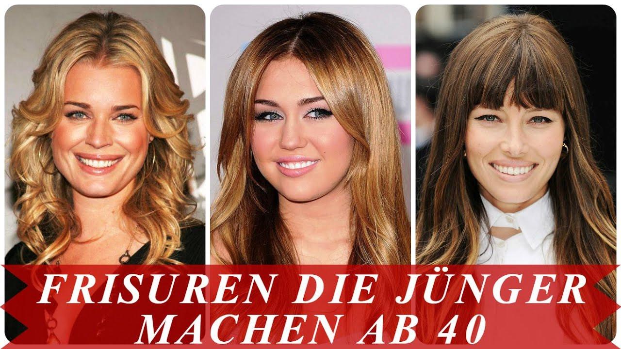 Frisuren Die Jünger Machen Ab 40  Frisuren jünger machen ab 40