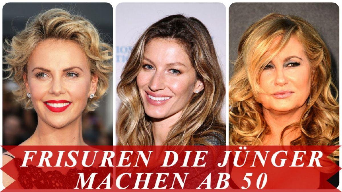 Frisuren Die Jünger Machen Ab 50  Neu Frisuren Die Jünger Machen Ab 50 Youtube Modell