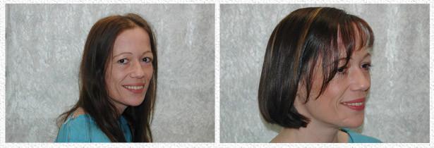 Frisuren Die Verjüngen Vorher Nachher  Vorher Nachher Galerie der Frisuren vom Friseur aus Hachenburg