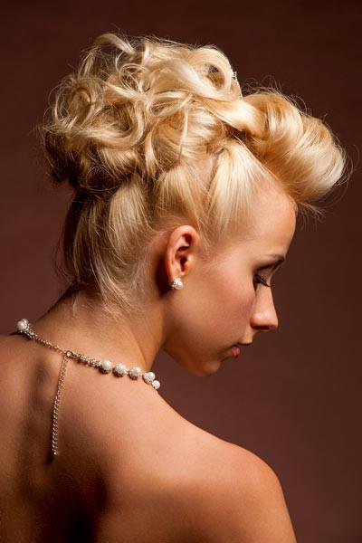 Frisuren Festlich  Festliche und elegante Hochsteckfrisuren Duftige Locken