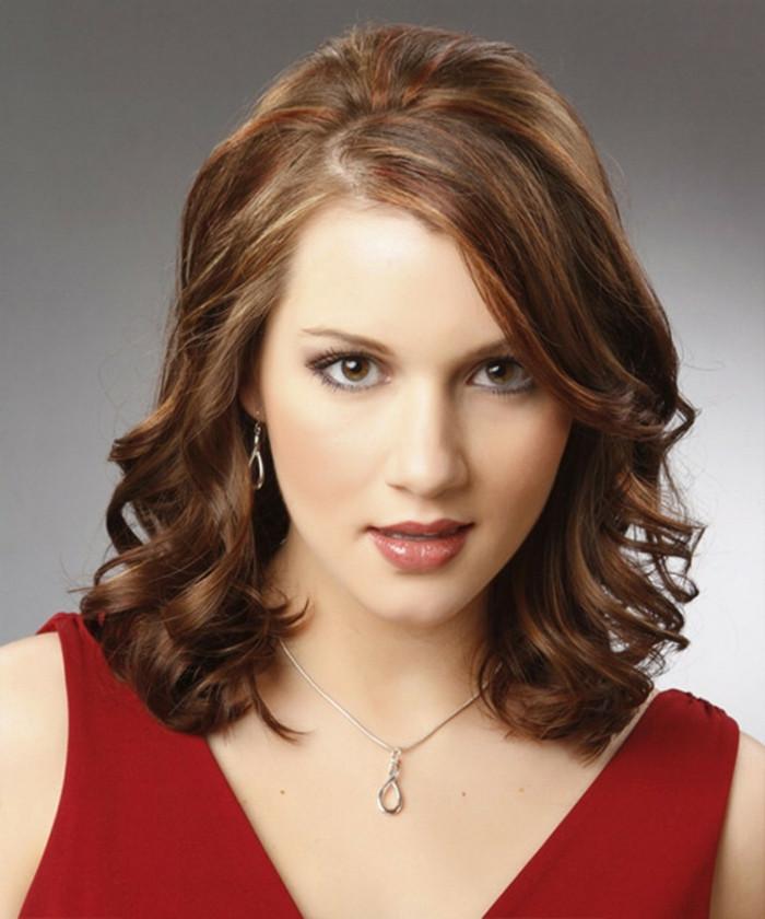 Frisuren Frauen Schulterlang  Schulterlange Frisuren Die perfekte Länge für das