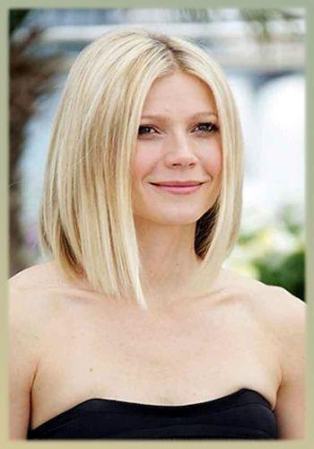 Frisuren Frauen Schulterlang  Haarschnitt mittellang frauen