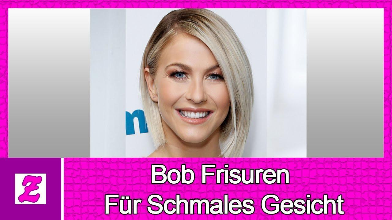 Frisuren Für Dickes Haar Und Schmales Gesicht  Das Geheimnis von Bob Frisuren Für Schmales Gesicht