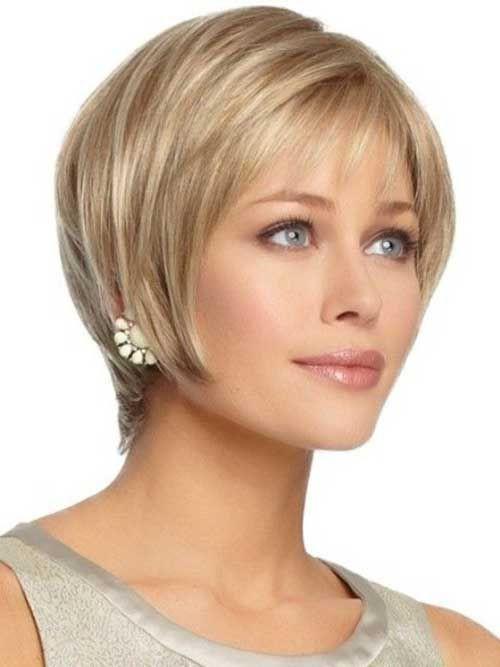 Frisuren Für Längliche Gesichter  15 Kurzhaarschnitte für Oval Gesichter Frisuren Stil
