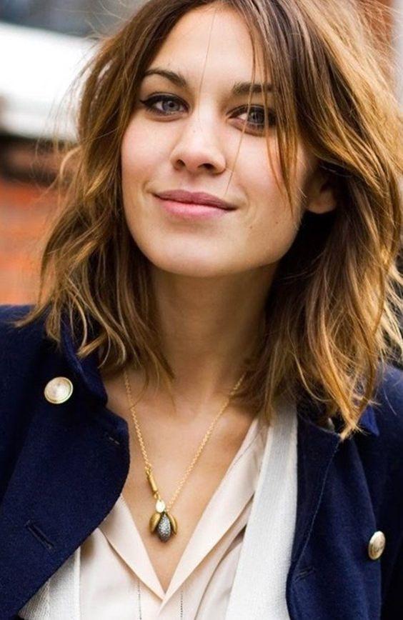 Frisuren Für Mittellange Haare  Frisuren mittellang Schnitte und Stylings für