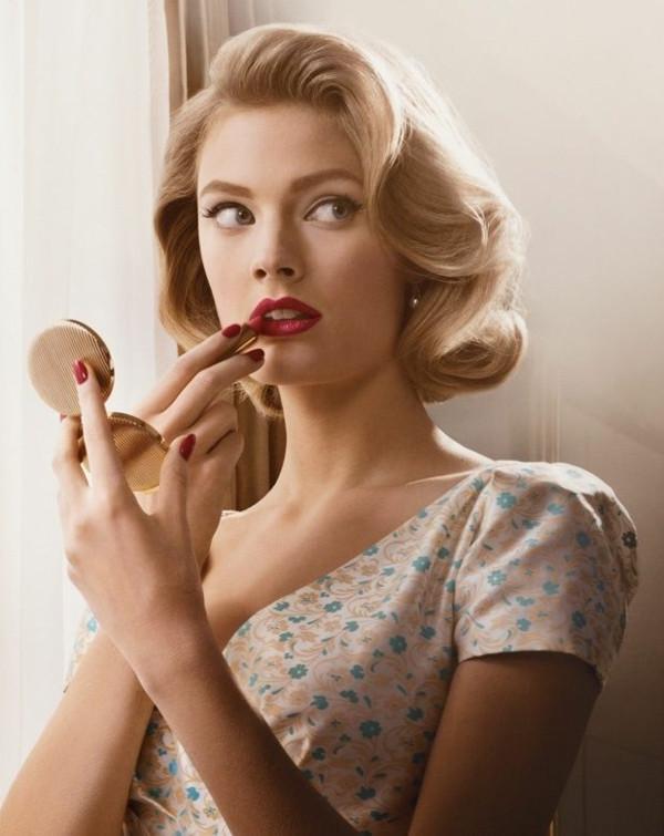 Frisuren Gesichtsform  Damen Frisuren zu Ihrer Nasenform gut passen
