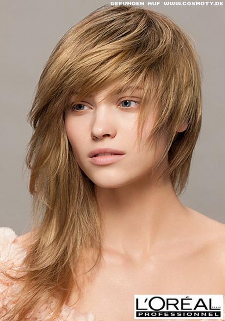 Frisuren Gestuft  Gestufte frisuren mittellang