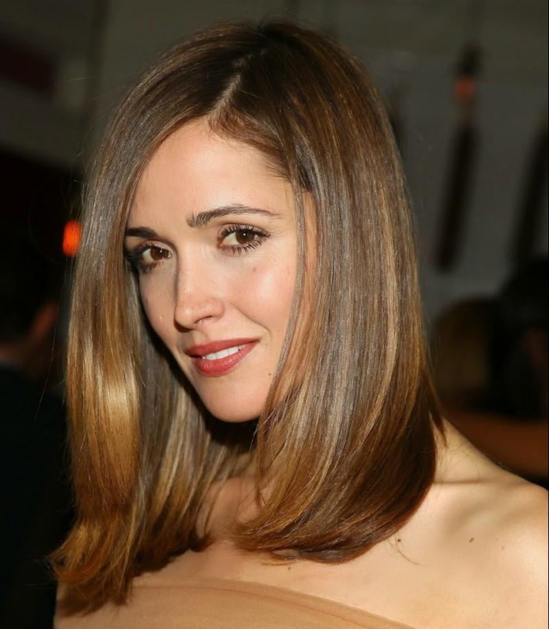 Frisuren Glatte Haare Mittellang  Schulterlange Frisuren Die perfekte Länge für das