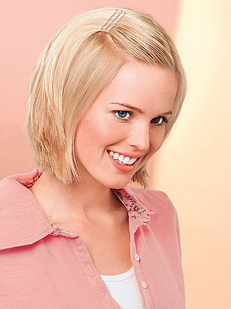 Frisuren Halblang Feines Haar  Frisuren für feines glattes haar