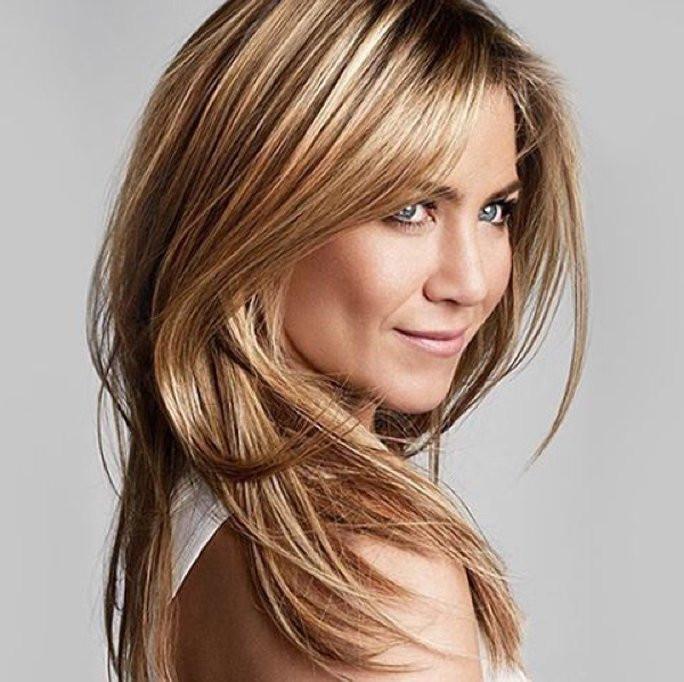 Frisuren Halblang Feines Haar  Frisuren für feines Haar Helle Strähnchen