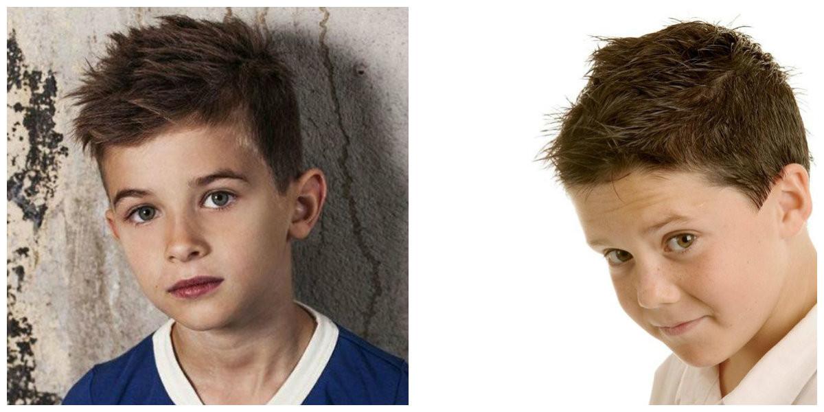 Frisuren Kinder Jungs 2019  Coole Haarschnitte für Jungen 2019 Top trendige
