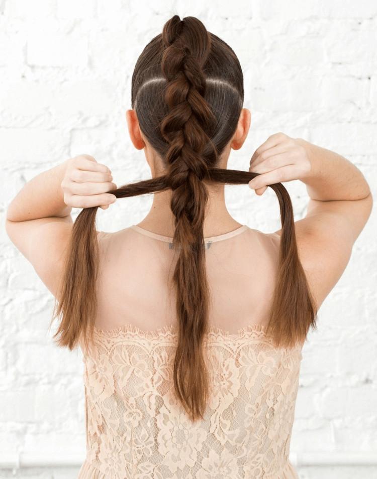20 Besten Ideen Frisuren Lange Haare Selber Machen