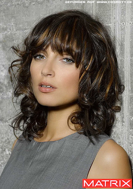 Frisuren Locken Bob  Frisuren lange haare locken pony