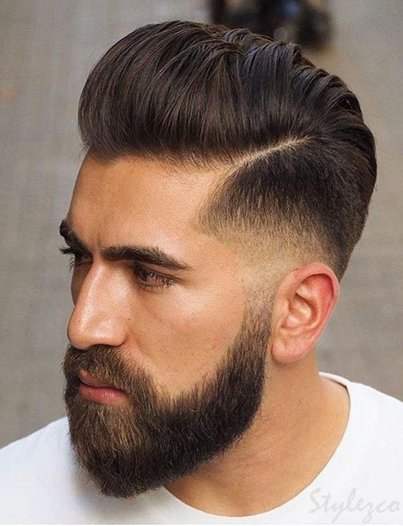 Frisuren Männer 2019 Undercut  Beliebte Frisuren & Haarschnitt Ideen für Männer für 2019