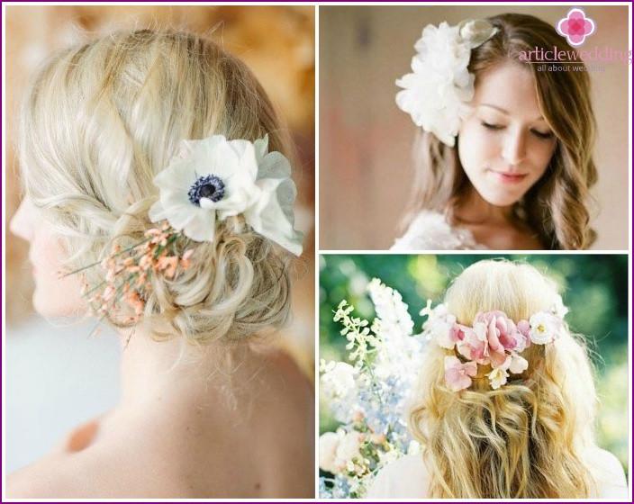 Frisuren Mit Blumen  Frisuren Mit Blumen Im Haar Frisur