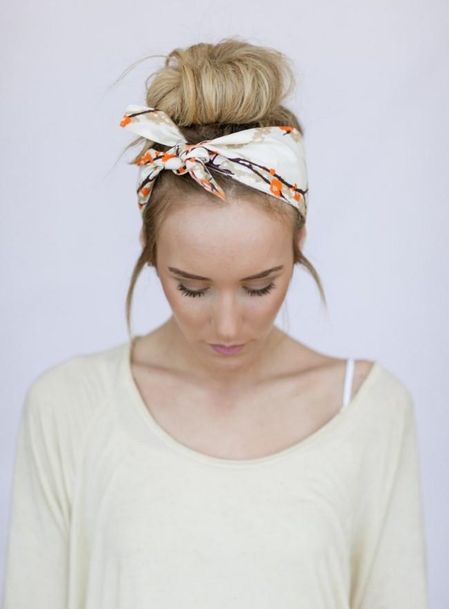 Frisuren Mit Haarband  Einen fröhlichen Winter erreichen Sie durch Frisuren mit