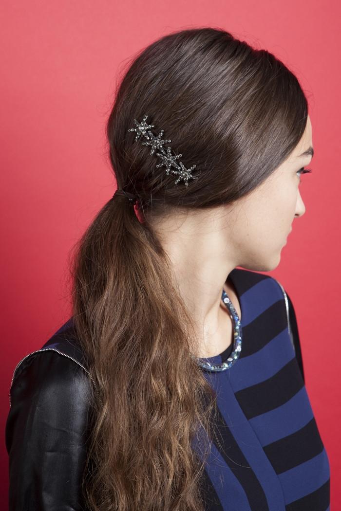 Frisuren Mit Haarspangen  Welche Frisuren Kann Man Mit Haarspangen Machen Frisur