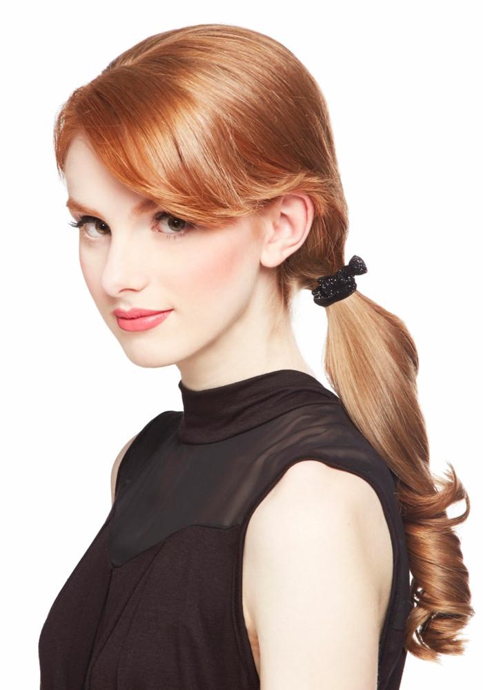Frisuren Mit Haarspangen  Frisuren mit Haarband vergessene Weiblichkeit