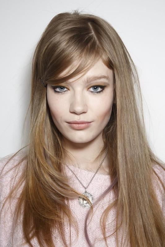 Frisuren Mit Seitenscheitel  Frisuren Trends aus New York Der Seitenscheitel ist