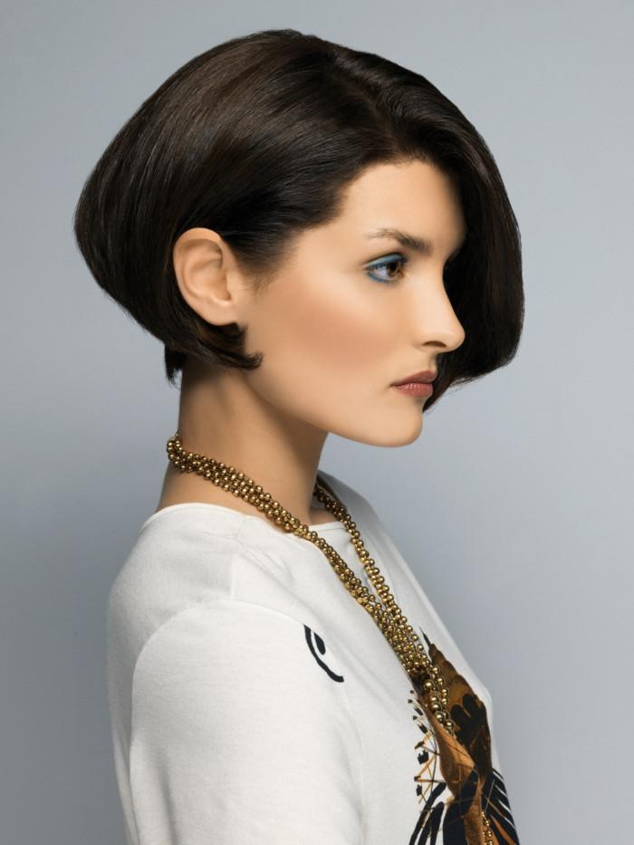 Frisuren Mit Seitenscheitel  Kurzhaar Frisuren für einen eleganten und angesagten Look