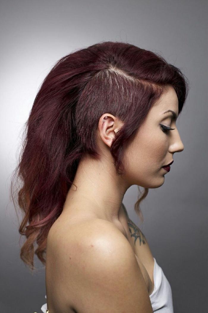 Frisuren Mit Sidecut  Undercut Frisuren Der umstrittene Modetrend in Bildern