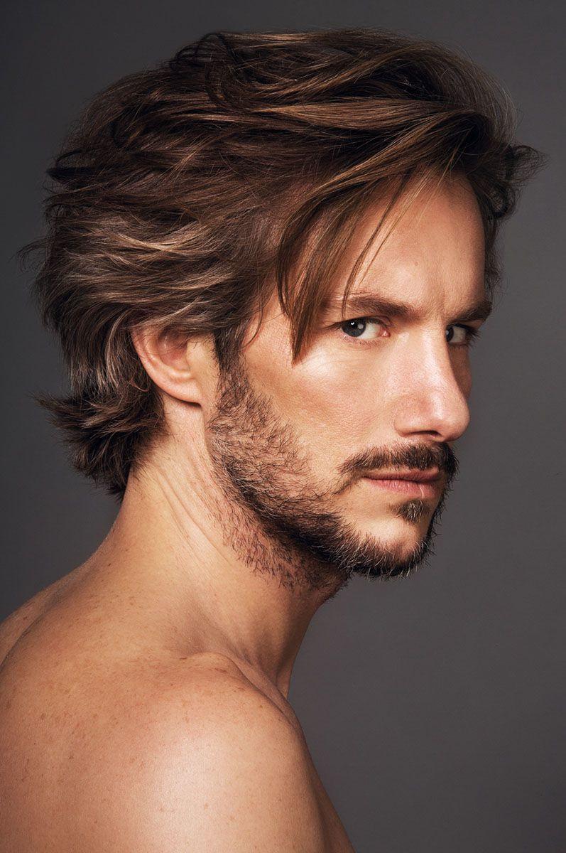 Frisuren Mittellang Männer  Mittellange Haare