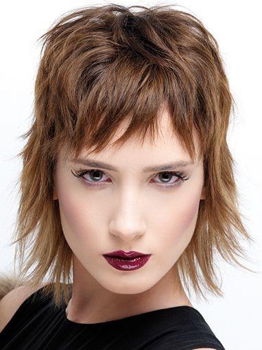 Die Besten Ideen Fur Frisuren Mittellang Stufig Fransig Beste
