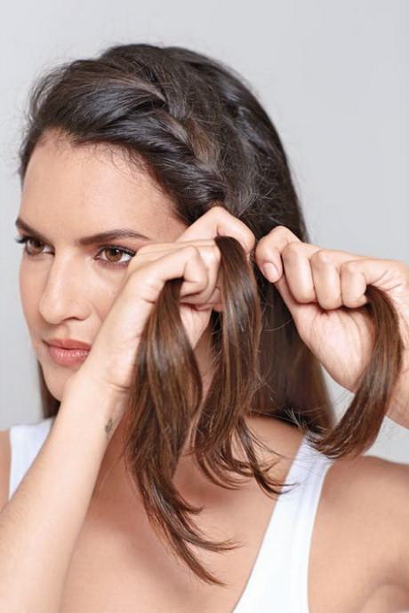 Frisuren Schnell Gemacht  Frisuren selbst gemacht