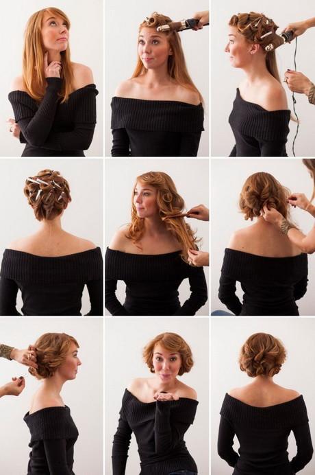 Frisuren Schnell Gemacht  Rockabilly frisuren selbst gemacht