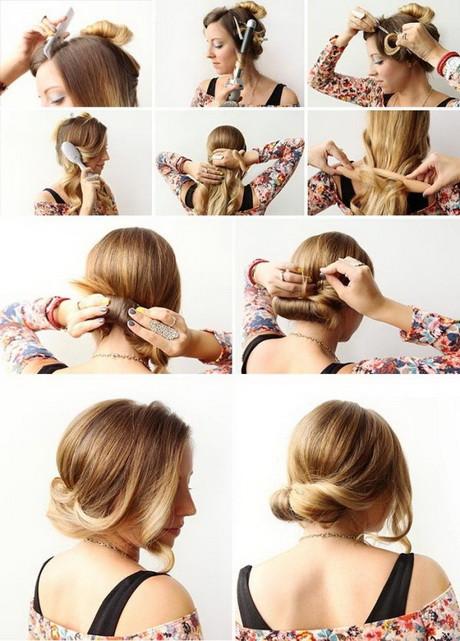 Frisuren Schnell Gemacht  Schöne und einfache frisuren für lange haare