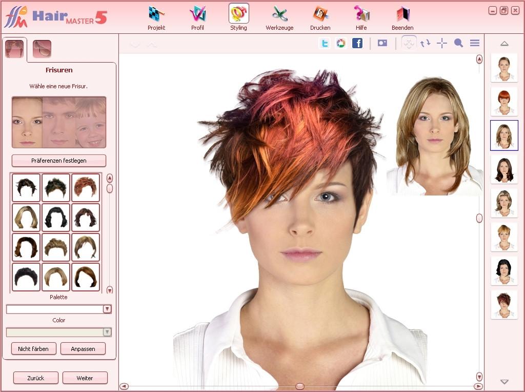 Frisuren Testen Foto  Frisuren Am Eigenen Foto Testen