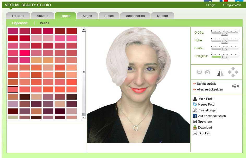 Frisuren Testen Foto  So geht Frisuren online testen ⋆ Klaudija Lifestyle