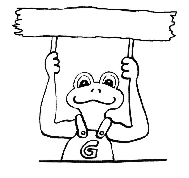 Frosch Ausmalbilder Zum Ausdrucken  Ausmalbilder frosch kostenlos Malvorlagen zum ausdrucken